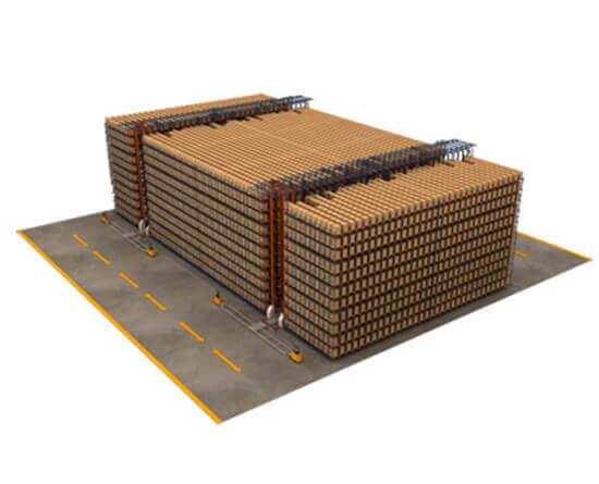 穿梭车堆垛机系统113
